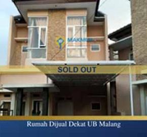 Rumah Dijual Dekat Kampus UB Malang