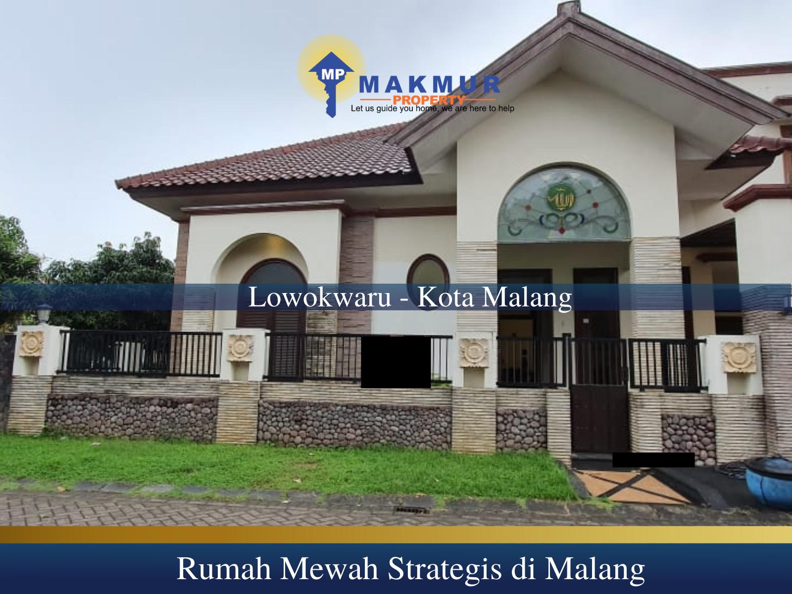 Rumah Mewah di Malang Kota