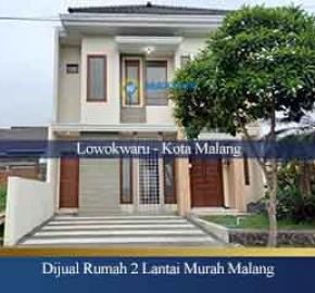 Rumah 2 Lantai Kota Malang