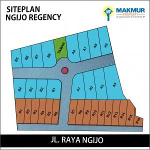 Siteplan Ngijo Regency
