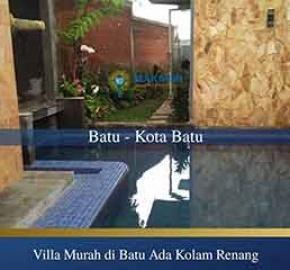 Villa dengan Kolam Renang Pribadi di Batu Malang Murah