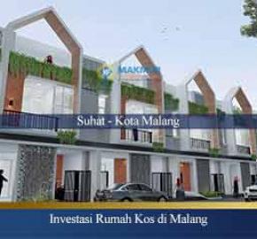 Dijual Rumah Kos Kota Malang
